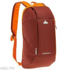 BACKPACK 10L SMALL,LIGHT HIKING, COMFORTABLE UNISEX QUECHUA RUCKSACK WORK SCHOOL