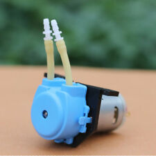 Dosing Pump 3V Mute Peristaltic Liquid Micro Self-priming Hose Pump Silicone New