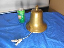 Vintage Bronze / Brass Nautical Marine Ship ,Engraved Capt. John Yellowbird Iv