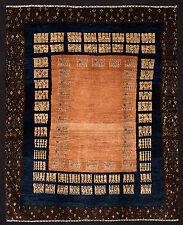 TAPPETO PERSIANO GABBEH LORI BAFT NODO FINE ANNODATO A MANO cm. 190 x 154