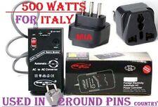 500 Watts For Italy Other Seven Star 110v 220v Volt 110V 220V Voltage Converter