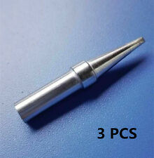 3PCS Replacement Weller 1/16 ETA Long Conical Soldering Iron Tip WES51 PES51