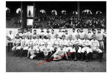 1903 First World Series Game PHOTO Team Boston Americans Pirates Honus Wagner