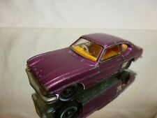 DINKY TOYS 165 FORD CAPRI RHD - PURPLE 1:43 - GOOD CONDITION