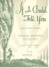 """""""If I Could Tell You"""" Sheet Music-Piano/Vocal/Guitar- Medium Voice-1942-Rare-New"""