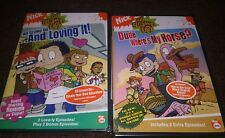 New Nick All Grown Up Dude Where's My Horse + And Loving It 2005 Dvd Freeshippin