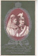 C5121) GERMANIA ZUR ERINNERUNG 1881-1906 KAISERPAARES. VIAGGIATA.
