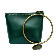 Round Shape Ring Mini Handbags Casual Women Wallet Pu Leather