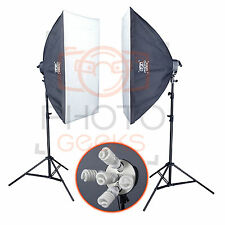 Softbox studio éclairage continu kit - 1500w-photographie vidéo pro photo set
