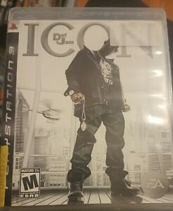 Def Jam Icon (Sony PlayStation 3 PS3) No Manual - Mature 17+