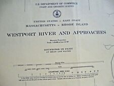 NAVIGATIONAL MAP WESTPORT RIVER AND APPROACHES - MA AND RI- # 237