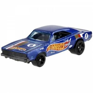 Hot Wheels Blue 1969 Dodge Charger 1:64  Diecast Toy Cars HW Race Team 243/250