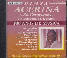 Acerina y Su Danzoneras 100 Años de Musica CD New Nuevo