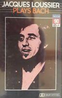 Jacques Loussier Plays Bach Cassette.1985 Decca 90 2 LP KFOC2 8030.