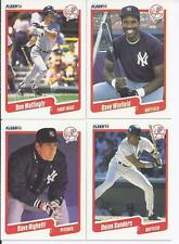 1990 Fleer New York Yankees Team Set