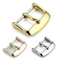 12mm-22mm Electroplate Stainless Steel Buckle Parts Strap Clasps Watch Accessory