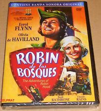 ROBIN DE LOS BOSQUES / THE ADVENTURES OF ROBIN HOOD - English Français Español -
