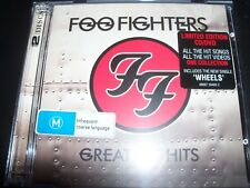 Foo Fighters ‎– Greatest Hits (Australia) CD DVD Edition – New (Not Sealed)