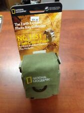 N.O.S NATIONAL GEOGRAPHIC NG 1151 SMALL CAMERA POUCH /BAG GREEN