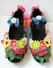 FLOWER FAIRY DAISY ALICE Scarpe Appartamenti GOTHIC LOLITA ALT KAWAII PASTEL GOTH 6