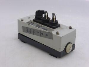 Panel de Control Con 3 Interruptor