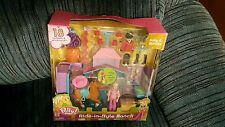 Polly Pocket Ride in Style Ranch 18 Piece (Colors may Vary) 2-Day Delivery