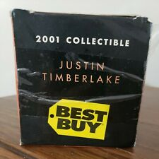New 2001 Best Buy N'Sync Justin Randall Timb 00006000 Erlake Collectible Bobblehead Doll