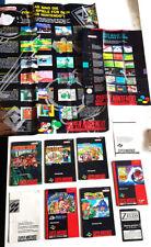 Super Nintendo SNES Sammlung Anleitung OVP Donkey Kong Country Mario Kart Zelda