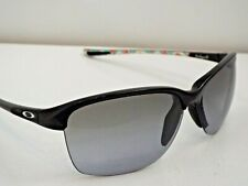 Authentic Oakley OO9191-09 Unstoppable Black Grey Gradient Sunglasses $205