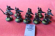 Games Workshop Warhammer 40k Kasrkin Stormtroopers x10 Meltas Painted Metal Army