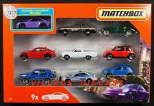 2020 Matchbox 9-Pack Exclusive Porsche 911 GT3 PURPLE + Alfa Romeo / Mini / MIB