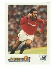 Rare EPL 1995-'96 COLLECTOR MERLIN CARD OF RYAN GIGGS with MANCHESTER UNITED