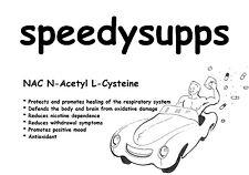 NAC N-Acetyl L-Cysteine pure powder antioxidant detox ships from Australia