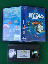 VHS Walt Disney Pixar - ALLA RICERCA DI NEMO (2004) VS 5204