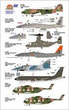 Wolfpak Decals 72-137 Quick Draw Boeing Skyhawk F15 KC135 Sikorsky Ospray 1/72
