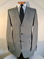 Hackett Single-Breasted Lightweight Houndstooth Check Suit 38""