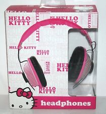 HELLO KITTY HEADPHONE DJ STYLE HI-DEFINITION SOUND 40MM PINK SANRIO