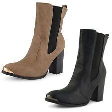High Heel (3-4.5 in.) Block Slip On Shoes for Women