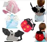 Baby Toddler Safety Harness Reins Backpack Walker Buddy Strap Walker