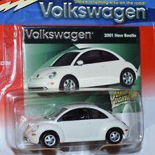 2001 Volkswagen VW New Beetle - Cameo White - Volkswagen Series MIP Bug