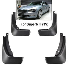 Fit for 2016-2018 Skoda Superb III 3 V bavettes pare boue Splash Guard Garde-boue