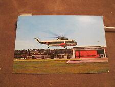 Cornwall postcard - The B.E.A Heliport Penzance