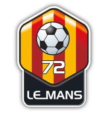 Le Mans FC France Soccer Football Car Bumper Sticker Decal 4'' x 5''