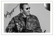 ARNOLD SCHWARZENEGGER THE EXPENDABLES 3 SIGNED PHOTO PRINT AUTOGRAPH POSTER