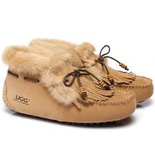 AS UGG High Top Ladies Tassel Suna Moccasin ,Australia Premium Sheepskin