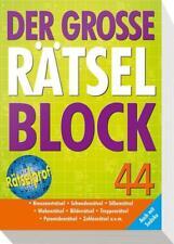 Der große Rätselblock 44 (2015, Taschenbuch)