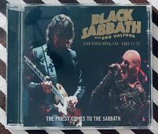 BLACK SABBATH with ROB HALFORD - The Priest Comes To The Sabbath CD JUDASPRIEST
