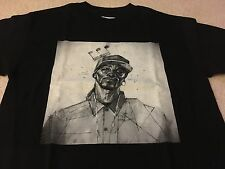 CUKUI CALA SNOOP TEE SHIRT BLACK MEDIUM M aloha army