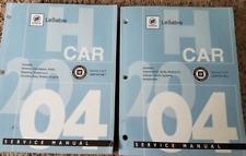 2004 GM Buick Lesabre LESABRE Service Repair Shop Workshop Manual Set Factory