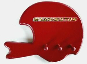 Washington Redskins Football Helmet Wooden Wall Key / Miscellaneous Hanger